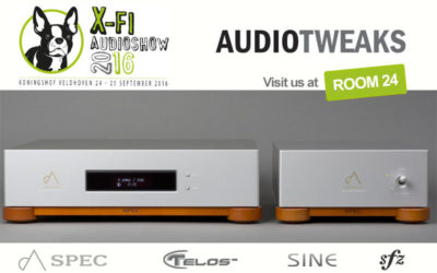 AudioTweaks staat op de X-fi High-End Audioshow
