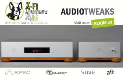 AudioTweaks staat op de X-fi High-End Audioshow